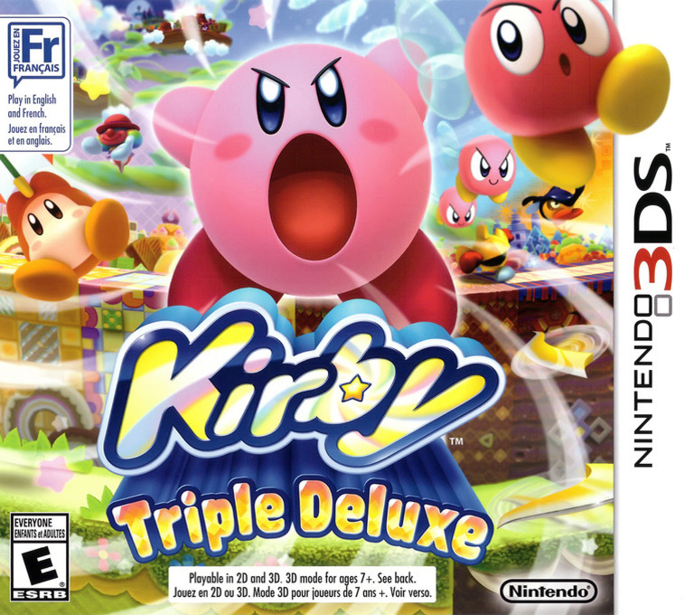 Kirby - Triple Deluxe 3DS coverHQ (BALE)