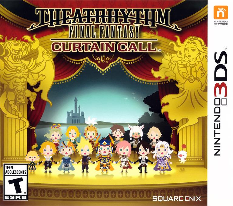 Theatrhythm Final Fantasy - Curtain Call 3DS coverHQ (BTHE)