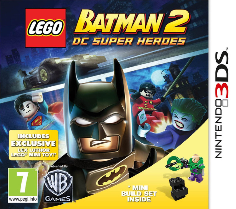 LEGO Batman 2 - DC Super Heroes 3DS coverHQ2 (ALBP)
