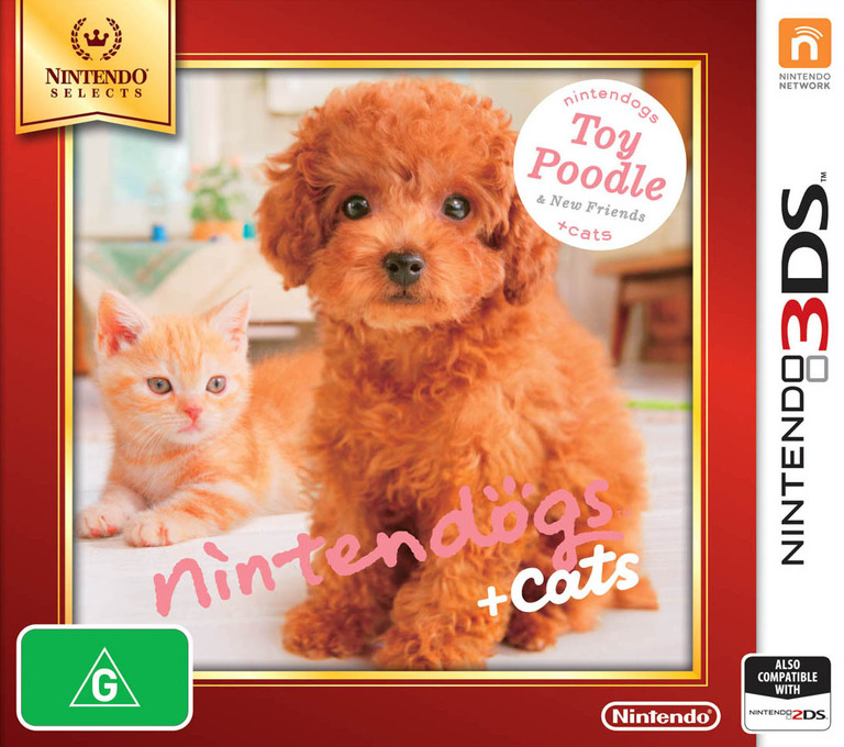 Nintendogs + Cats - Toy Poodle & New Friends 3DS coverHQB (ADCP)