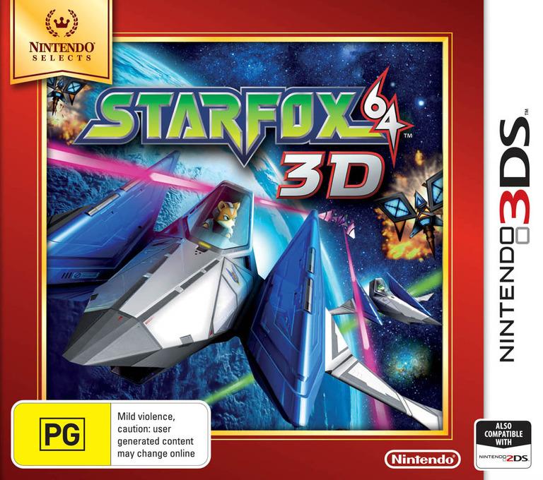 Star Fox 64 3D 3DS coverHQB (ANRP)