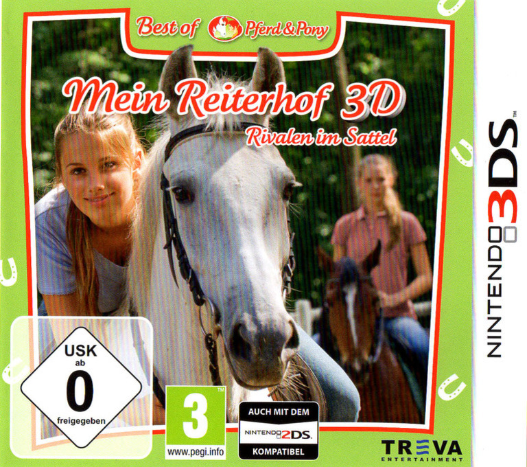 Mein Reiterhof 3D - Rivalen im Sattel 3DS coverHQB (AMUP)