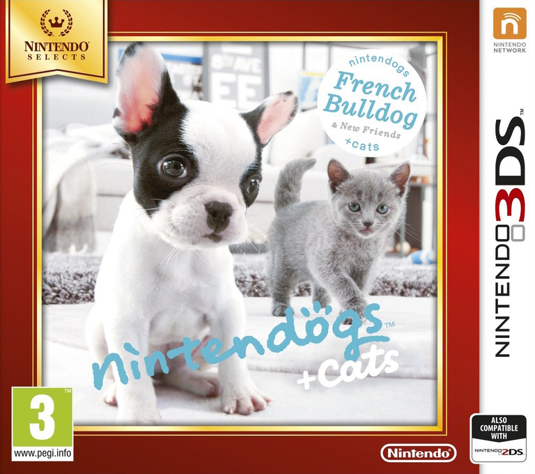 Nintendogs + Cats - French Bulldog & New Friends 3DS coverHQB (ADBP)
