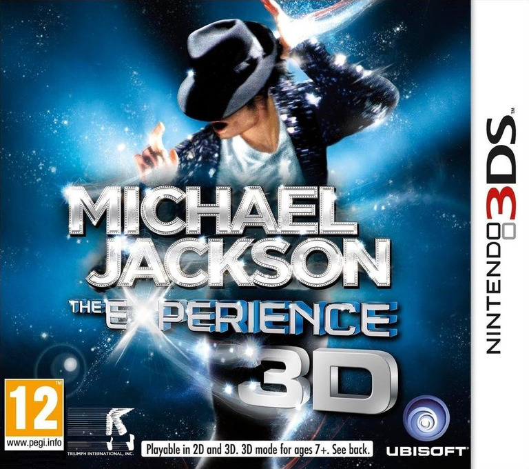 Michael Jackson - The Experience 3D 3DS coverHQB (AMJP)