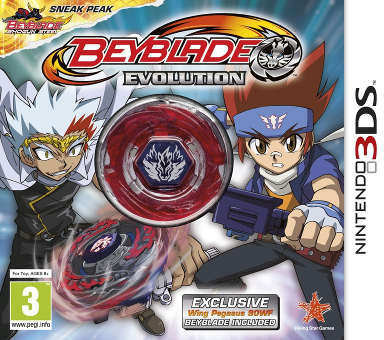 Beyblade - Evolution 3DS coverHQB (ARXP)
