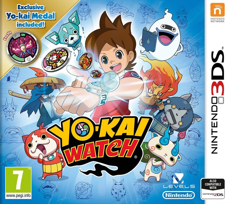 Yo-Kai Watch 3DS coverHQB (AYWZ)