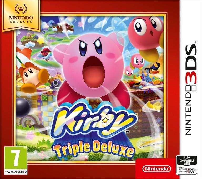 Kirby - Triple Deluxe 3DS coverHQB (BALP)