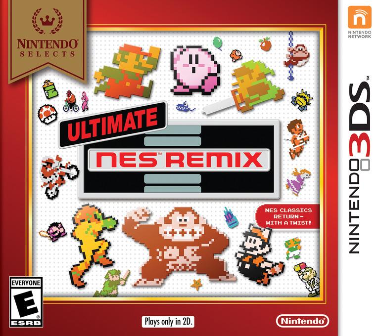 Ultimate NES Remix 3DS coverHQB (BFRE)