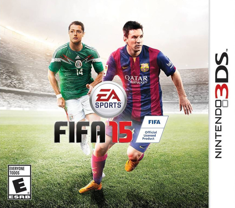 FIFA 15 - Legacy Edition 3DS coverHQB (BFTE)