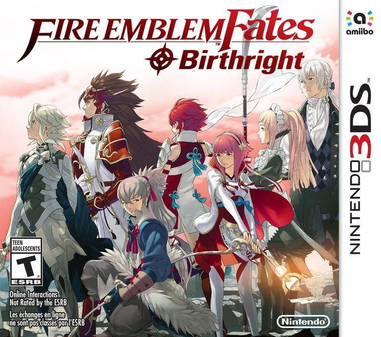 Fire Emblem Fates - Birthright 3DS coverHQB (BFXE)