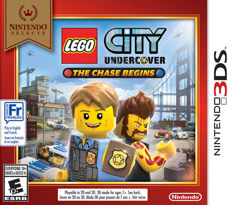 LEGO City Undercover - The Chase Begins 3DS coverHQB (AA8E)