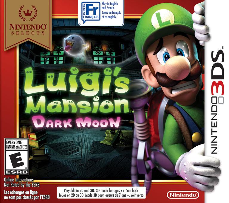 Luigi's Mansion - Dark Moon 3DS coverHQB (AGGE)