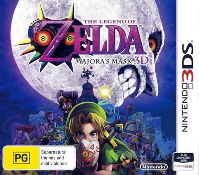 The Legend of Zelda - Majora's Mask 3D 3DS coverM (AJRP)