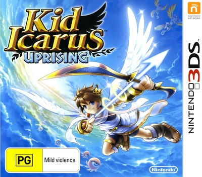 Kid Icarus - Uprising 3DS coverM (AKDP)