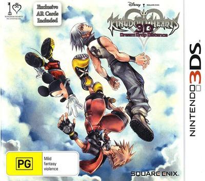 Kingdom Hearts 3D - Dream Drop Distance 3DS coverM (AKHP)