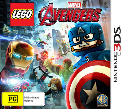 LEGO Marvel's Avengers Array coverM (ALEP)