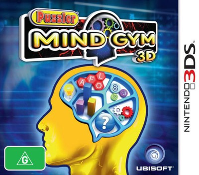 Puzzler Mind Gym 3D 3DS coverM (APUP)