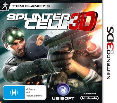Tom Clancy's Splinter Cell 3D 3DS coverM (ASCP)