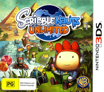 Scribblenauts Unlimited 3DS coverM (ASLX)
