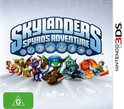 Skylanders - Spyro's Adventure 3DS coverM (ASPP)