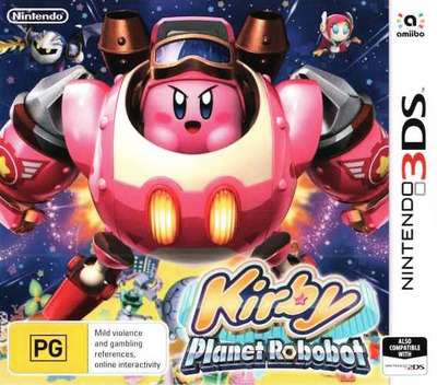 Kirby: Planet Robobot 3DS coverM (AT3P)