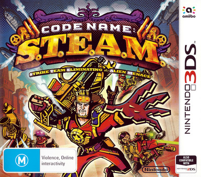 Code Name: S.T.E.A.M. 3DS coverM (AY6P)