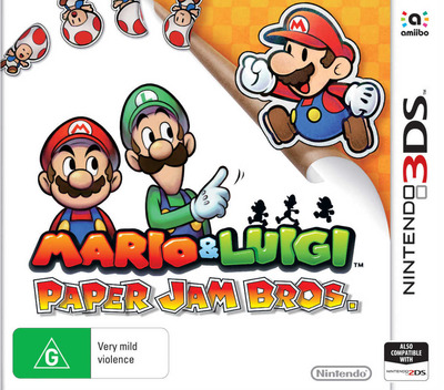 Mario & Luigi - Paper Jam Bros. 3DS coverM (AYNP)