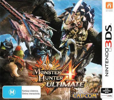 Monster Hunter 4 Ultimate 3DS coverM (BFGP)