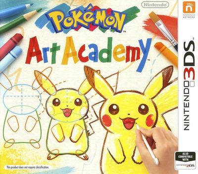 Pokémon Art Academy 3DS coverM (BPCP)