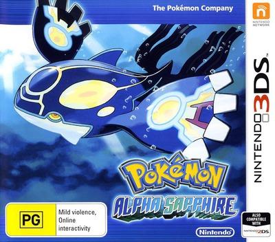 Pokémon Alpha Sapphire 3DS coverM (ECLP)
