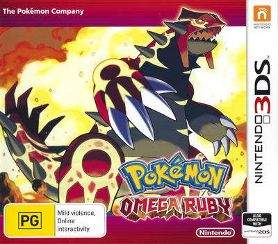 Pokémon Omega Ruby Array coverM (ECRP)