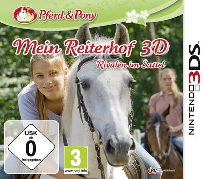 Mein Reiterhof 3D - Rivalen im Sattel 3DS coverM (AMUP)