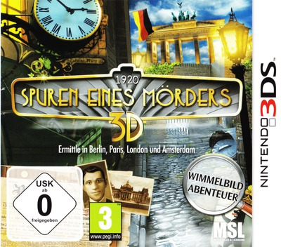 1920 Spuren eines Mörders 3D 3DS coverM (ASXP)