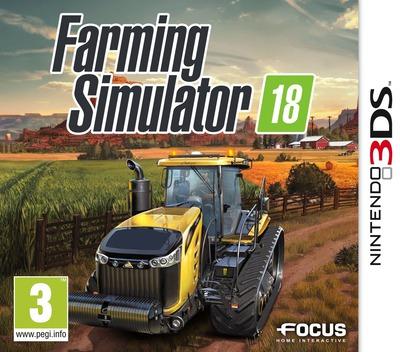 Farming Simulator 18 3DS coverM (A8FP)