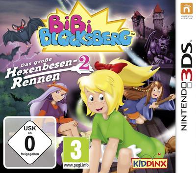 Bibi Blocksberg - Das grosse Hexenbesen-Rennen 2 3DS coverM (AA3D)