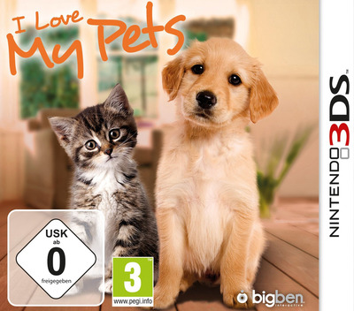 I Love My Pets 3DS coverM (AA6P)