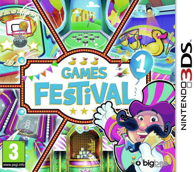 Games Festival 1 3DS coverM (AAEP)
