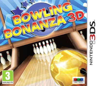 Bowling Bonanza 3D 3DS coverM (AB6P)