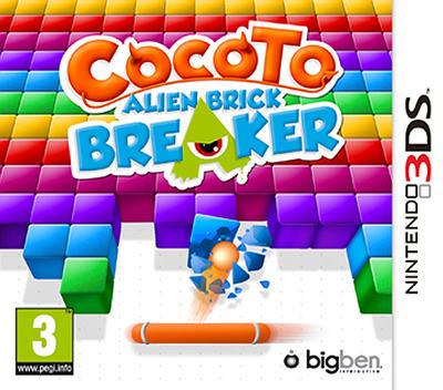 Cocoto - Alien Brick Breaker 3DS coverM (AB7P)