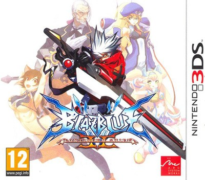 BlazBlue - Continuum Shift II 3DS coverM (ABLP)