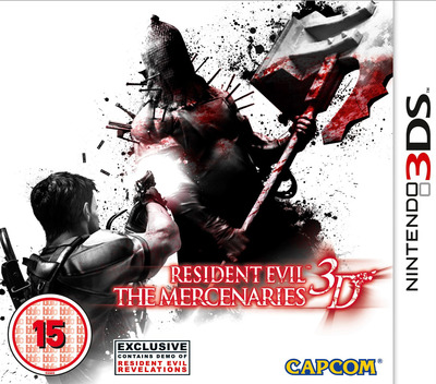 Resident Evil - The Mercenaries 3D 3DS coverM (ABMP)