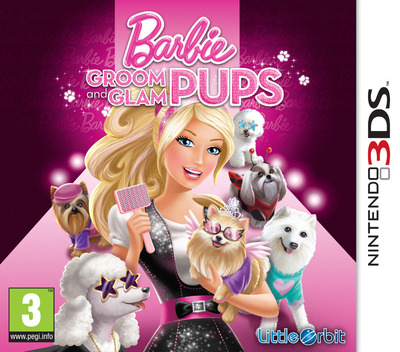 Barbie - Groom & Glam Pups 3DS coverM (ABYP)