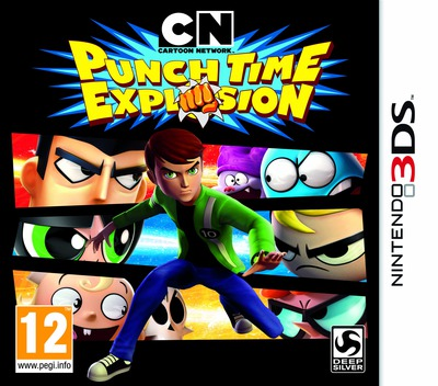 Cartoon Network - Punch Time Explosion 3DS coverM (ACNP)