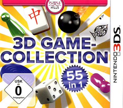 3D Game Collection - 55 in 1 3DS coverM (AD3D)