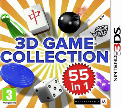 3D Game Collection - 55 in 1 3DS coverM (AD3P)