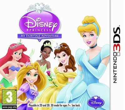 Disney Princess - My Fairytale Adventure 3DS coverM (ADPX)