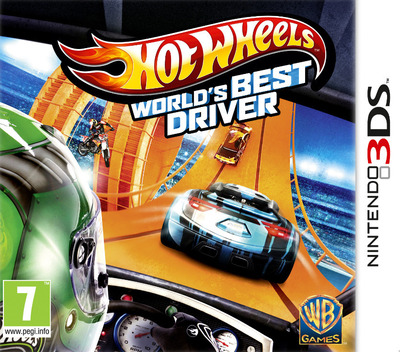 Hot Wheels - World's Best Driver 3DS coverM (AEAP)