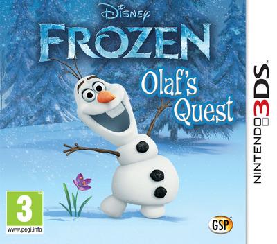 Disney Frozen - Olaf's Quest 3DS coverM (AEHZ)