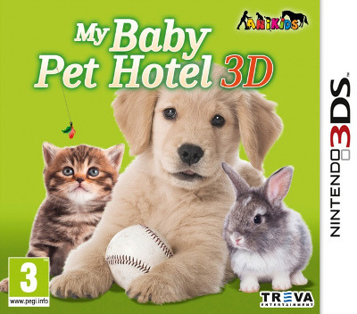 My Baby Pet Hotel 3D 3DS coverM (AEYP)