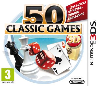 50 Classic Games 3D 3DS coverM (AF6Z)